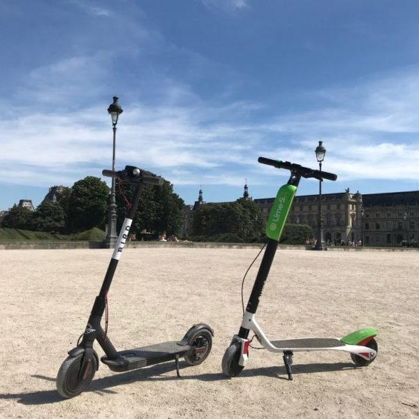 Trottinettes Paris Lime Bird Libre Service