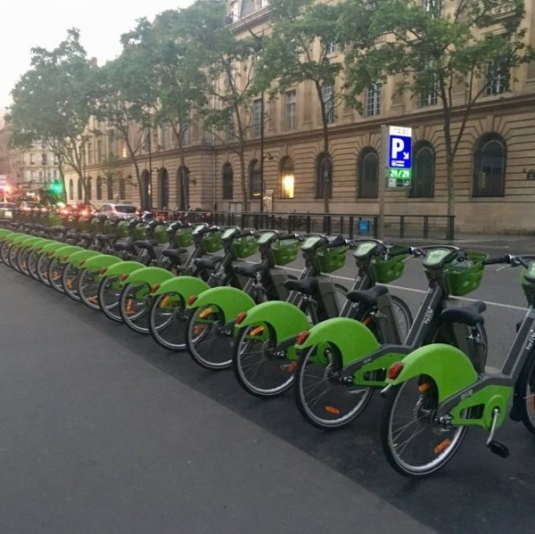 Station Vélib vélo libre-service